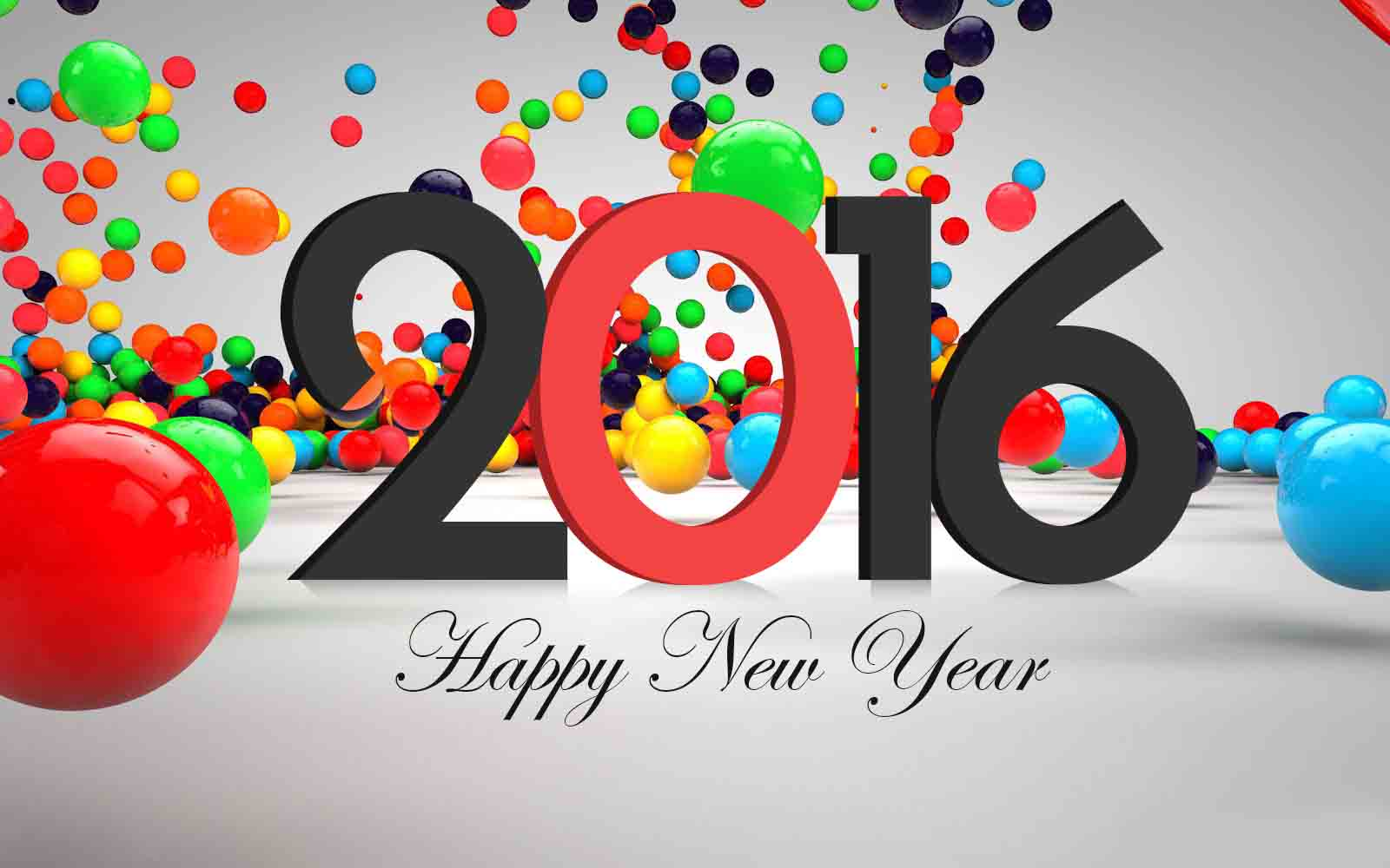 3d happy new year 2016 pictures images wallpaper for facebook