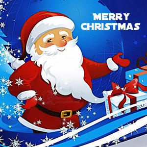 Cute Santa photo for whatsapp facebook dp wallpaper