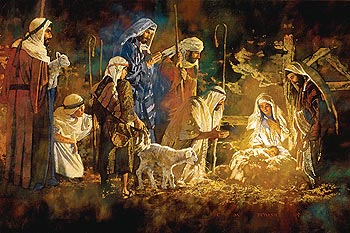 Nativity pictures for Christmas whatsapp dp
