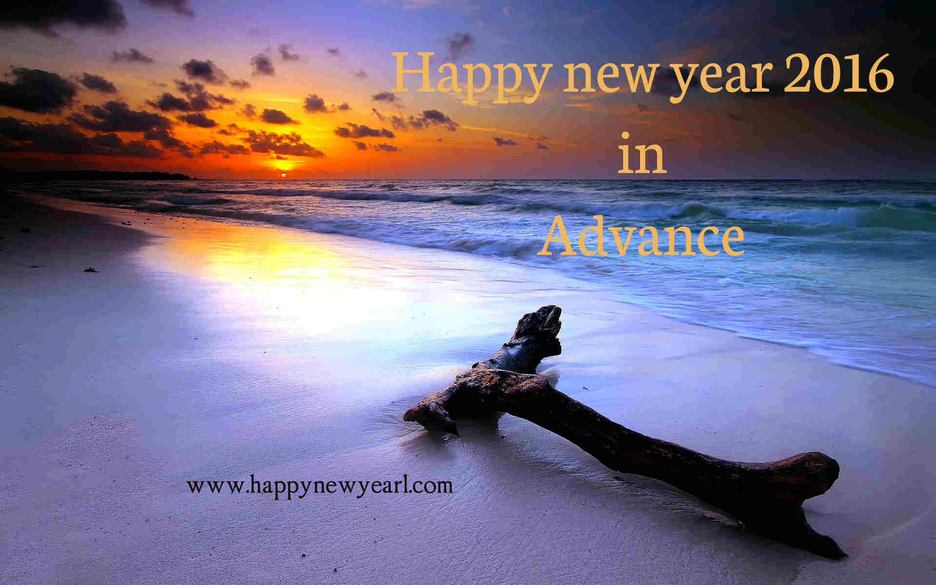 advance happy new year 2016 hd wallpaper for computer desktop