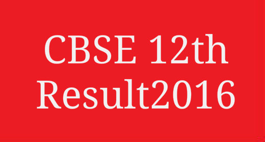 CBSE 12th result 2016 cbseresults.nic.in