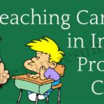 Teaching career in India