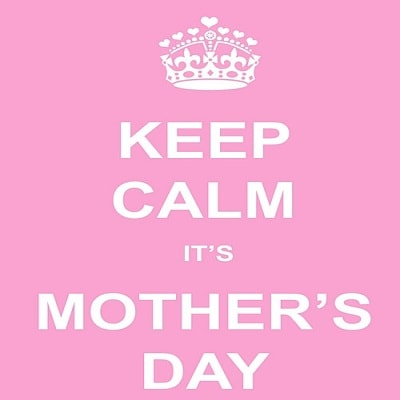 keep calm its mothers day whatsapp dp image free download