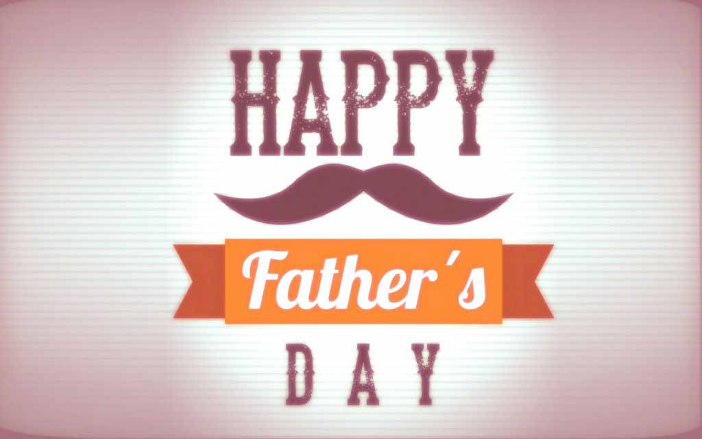 Happy Fathers day quotes wallpaper for free download