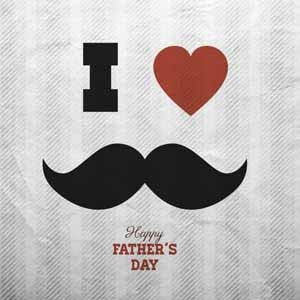 I love father happy father's day photo for whatsapp dp wallpaper