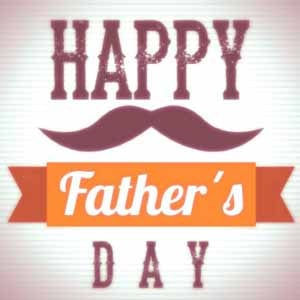 Simple happy father's day whatsapp dp wallpaper