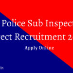 UP Police Sub Inspector 2016 Jobs Online Application