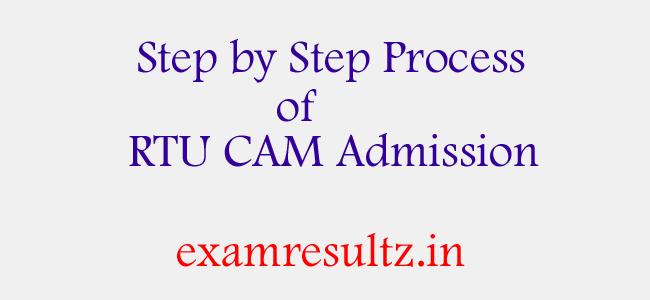 RTU CAM Admission 2017