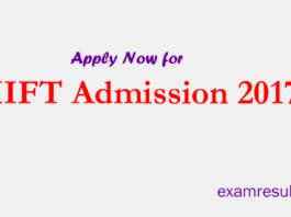 IIFT Admission 2017