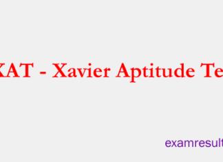 Xavier Aptitude Test